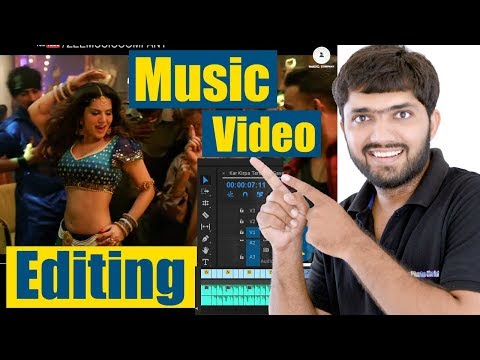 Music/Song Video Editing Tutorial   Beginners Guide - HINDI