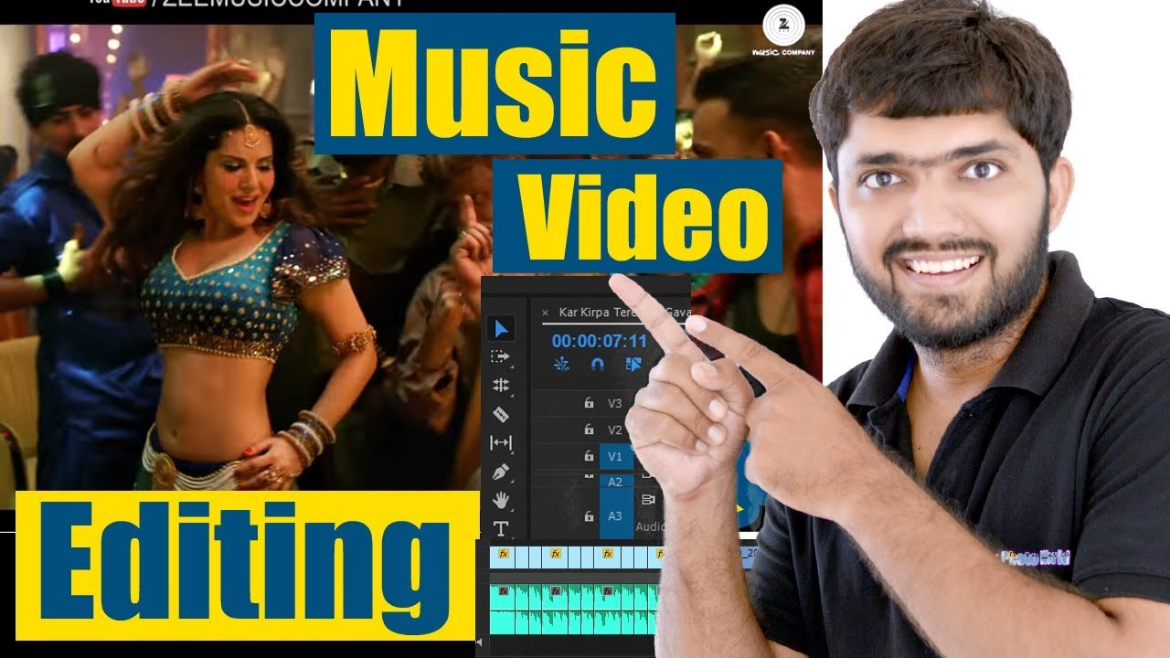 Music/Song Video Editing Tutorial | Beginners Guide - HINDI