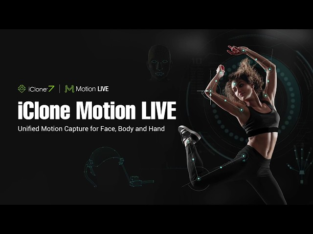 Reallusion introduces Motion LIVE, a full-body motion capture