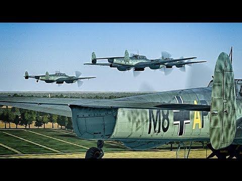 IL2 - Cliffs of Dover Blitz / ATAG -  Bf110 C4-B Low Level Attack