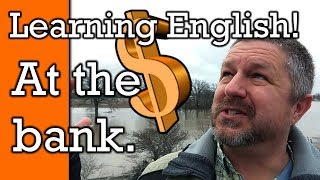 Learn How to Speak English at the Bank | English Video with Subtitles