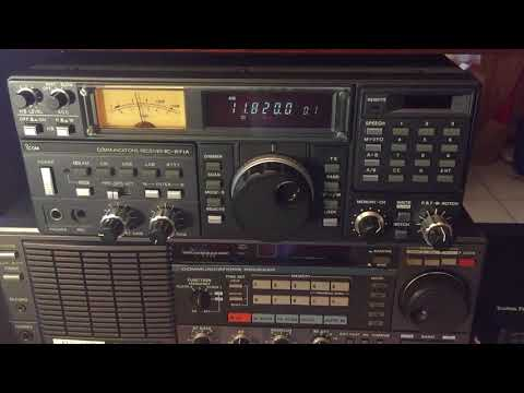 Radio Saudi 11820 kHz ICOM IC-R71A