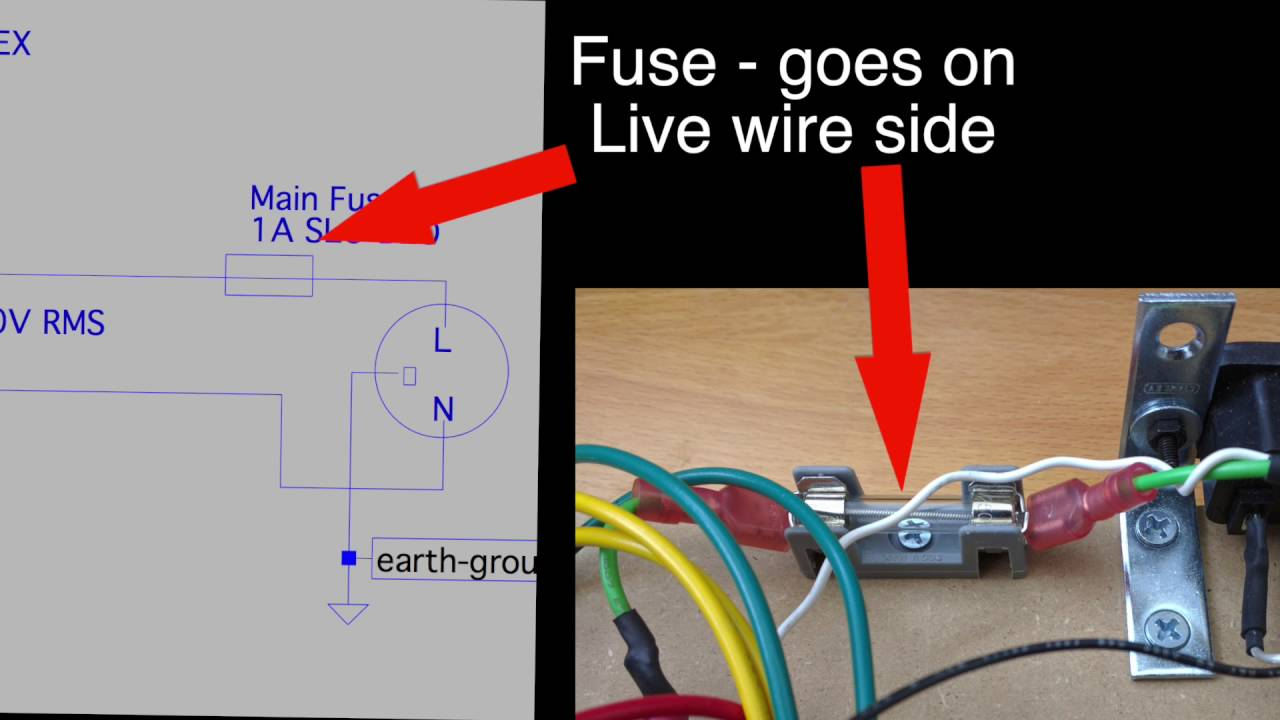 how tube amps work wiring up the fuse and primary on a hammond 270ex power transformer [ 1280 x 720 Pixel ]
