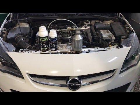 Чистим фильтр DPF на Opel Astra 2,0CDTI
