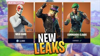 *NEW* LEAKED SKINS, GLIDERS AND PICKAXES! - Fortnite: Battle Royale