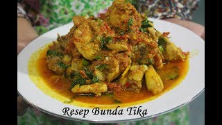 Resep Ayam Woku Pedas Gurih Bikin Ketagihan Makannya
