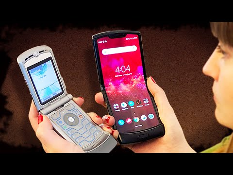 Motorola Razr 16 years later: How far we've come