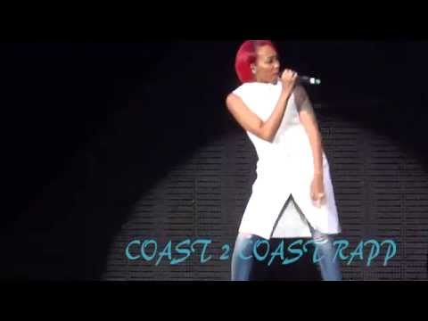 Monica  LIVE in Atlanta 2015 Pink Print Tour