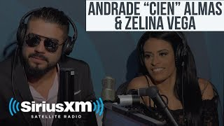 "Andrade ""Cien"" Almas & Zelina Vega - Making It To WWE, Summerslam, Work Ethic"