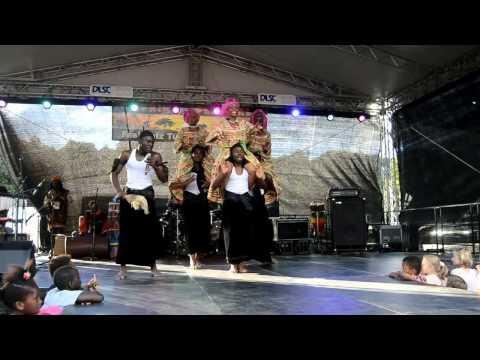 Ballet National Cameroun at Afrikafestival Tübingen 2015 - Dance from Littoral Cameroun