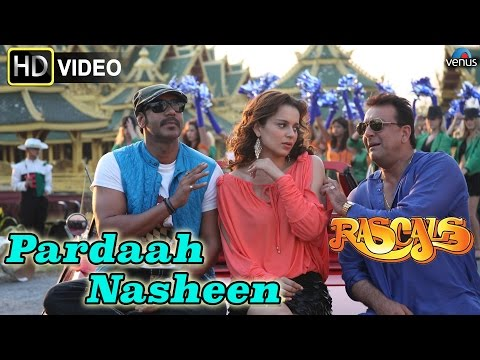 Pardaah Nasheen (HD) Full Video Song   Rascals   Sanjay Dutt, Ajay Devgan, Kangna Ranaut  