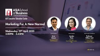 Webinar | COVID-19 | Marketing For A New Normal | ASB