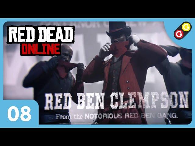Red Dead Online #08 Gadu team VS Red Ben gang ! [FR]
