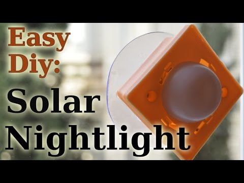 DIY: Solar Night Light