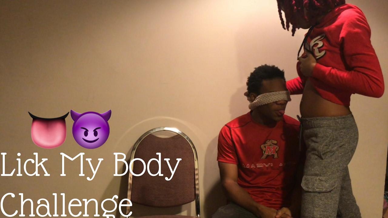 Youtube lick my body challenge