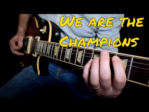 Queen - We Are The Champions cover
