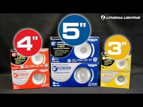 recessed lighting kits from lithonia lighting