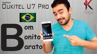 🇧🇷 Review [ Análise ] Oukitel U7 Pro - Smartphone bom, super barato e muito lindo!