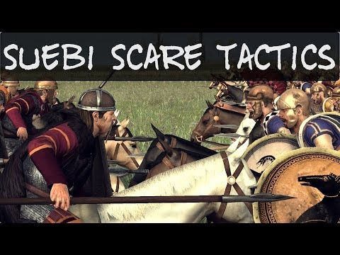 Total War Rome 2 Suebi Scare Tactics