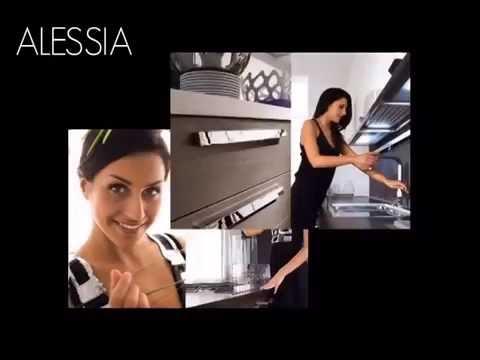 Cucina Lube modello Alessia Montebbeluna Treviso Feltre ...