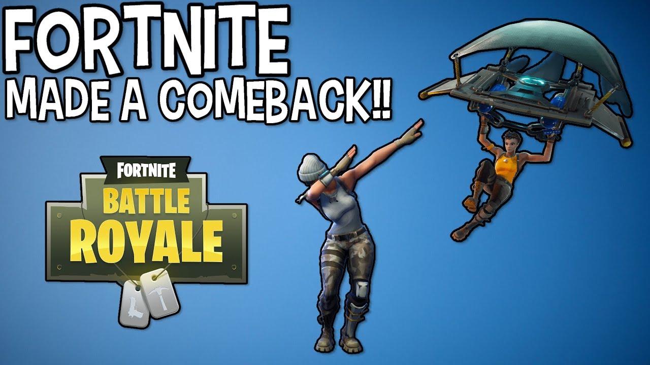 Fortnite: Made a comeback??? - YouTube
