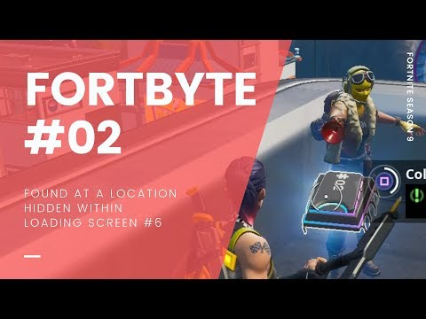 Fortnite Season 9 Fortbytes Locations Guide | All Fortbye Locations
