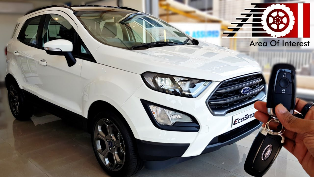 2019 Ford Ecosport S Sports Edition Sunroof Price Mileage Features Specs Interior