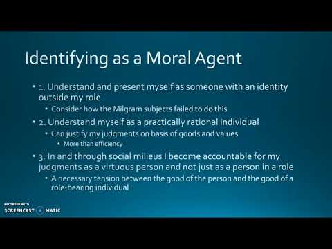 MacIntyre's Moral Agency and Social Structures