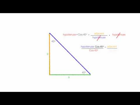 How To Calculate the Length of A Diagonal Line of Square Usi