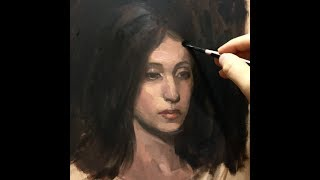 Alla-Prima Portrait Painting Demo | A First Lesson in Portrait Painting & Planes of the Head