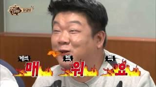 민상의 리얼 매운 닭볶음면 맛있는 녀석들 tasty guys 37회