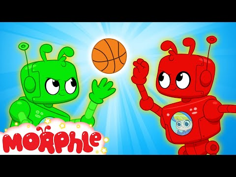 Morphle and Orphle's Basketball Game - Kids Cartoon   Morphle TV