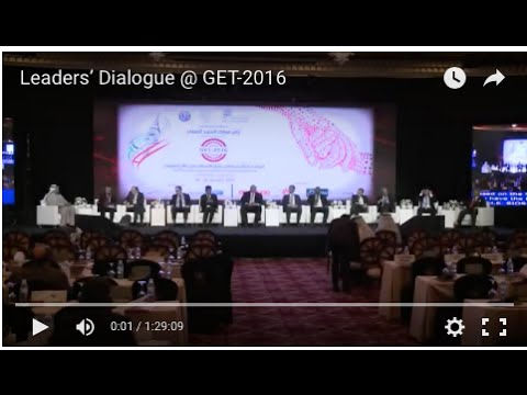 Leaders' Dialogue @ GET-2016