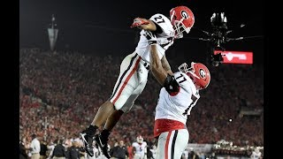 3 Georgia vs 2 Oklahoma  2018 Rose Bowl Game Highlights