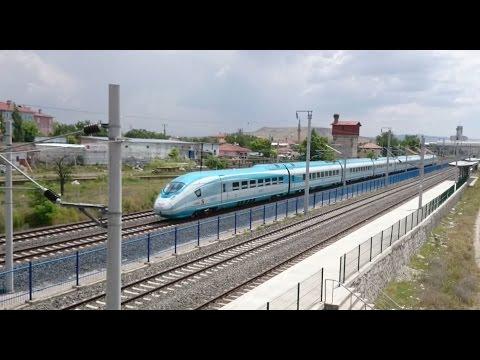 Yüksek Hızlı Tren (YHT) / High-Speed Trains in Turkey