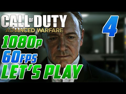 "Call of Duty: Advanced Warfare Let's Play ""Aftermath"" (1080p 60fps Advanced Warfare Playtrhough #4)"