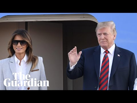 Trump arrives in Helsinki for meeting with Putin