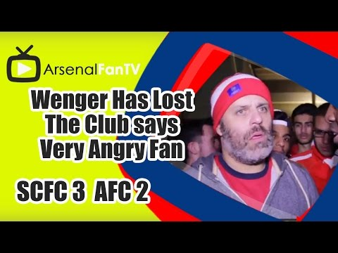 Wenger Has Lost The Club says Very Angry Fan - Stoke City 3 Arsenal 2