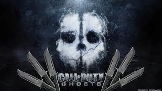 Call of Duty Ghosts: Knife + Throwing Knife montage