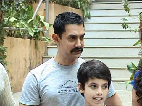 Aamir Khan & Darsheel Safary ting Zokkomon  Bollywood Latest s