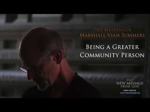 Being a Greater Community Person