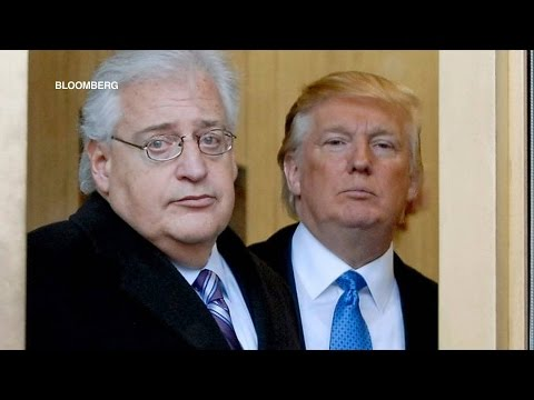 Ambassador for Apartheid: Trump's Pick for Israel Post Slammed as Threat to Peace & Two-State Talks