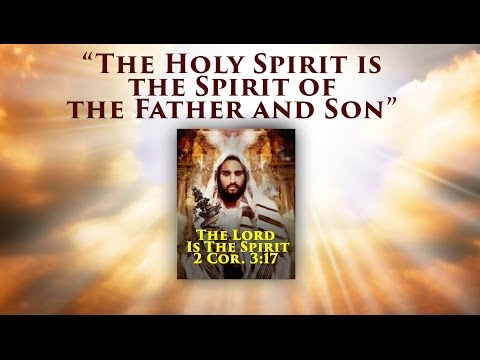 The Holy Spirit is the Spirit of the Father and Son, John 14:23