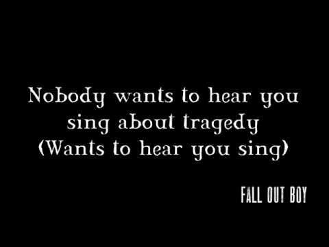 Disloyal Order of Water Buffaloes [Lyrics] Fall Out Boy