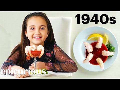 Kids Try 100 Years of the Most Expensive Foods