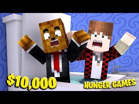$10,000 Minecraft Hunger Games Tournament W/ BajanCanadian