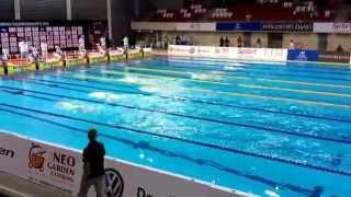 FINA World Junior Swimming Championships - Clyde Lewis (AUS) wins the men's 200m IM