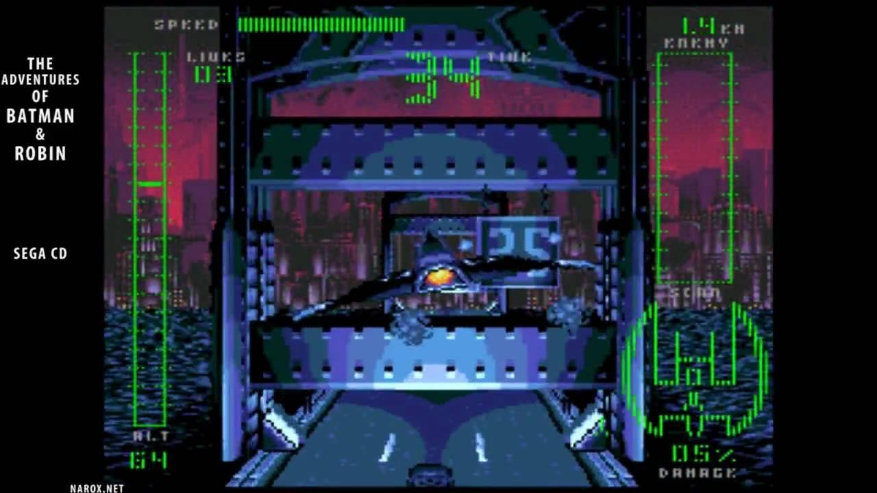 The Adventures Of Batman Robin Auto Demo Sega Cd