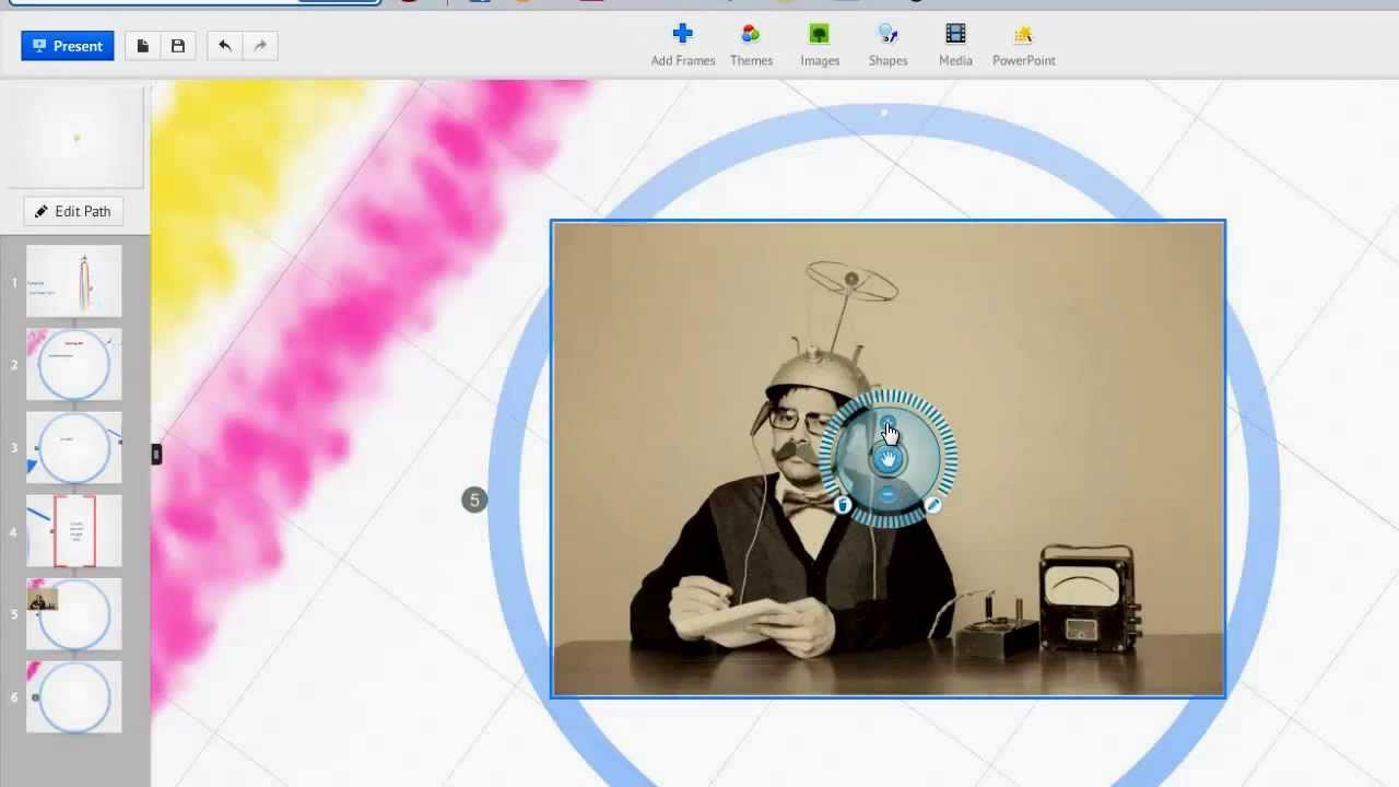 how to make prezi presentation offline