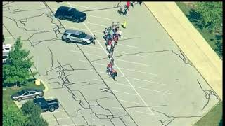 2 hurt in Indiana middle school shooting; suspect in custody